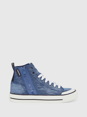 S-ASTICO MID ZIP W, Blu Jeans - Sneakers