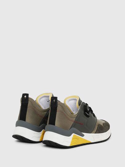 Diesel - S-BRENTHA LC, Verde Militare - Sneakers - Image 3