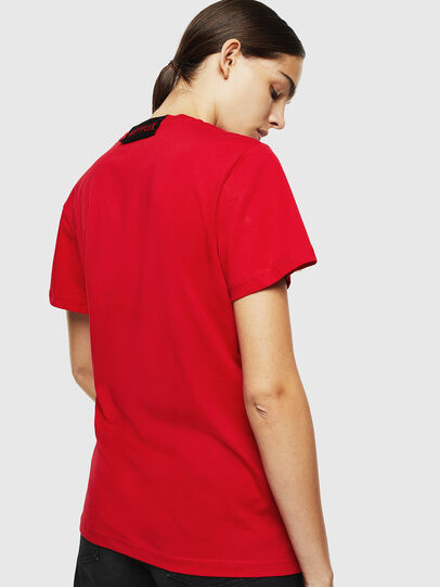 Diesel - LCP-T-DIEGO-RIO, Rosso - T-Shirts - Image 4