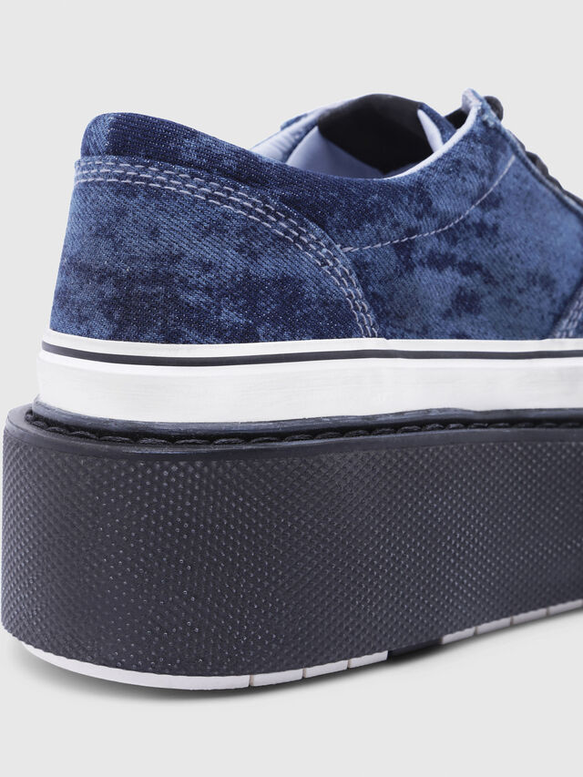 Diesel - H-SCIROCCO LOW, Blu - Sneakers - Image 5