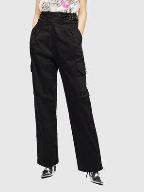 P-CHIKU, Nero - Pantaloni