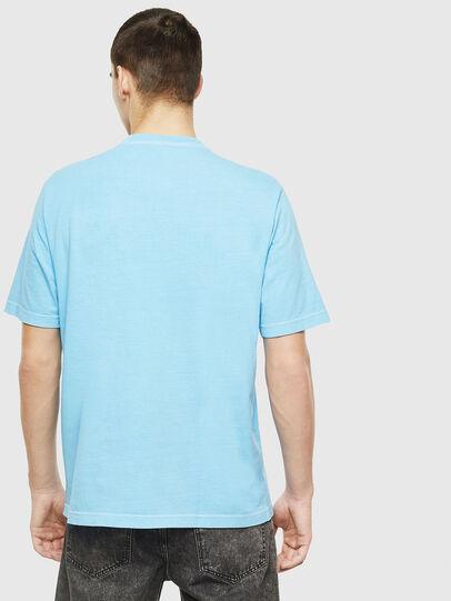 Diesel - T-JUST-NEON-S1, Azzurro - T-Shirts - Image 3