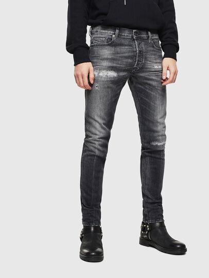 Diesel - Tepphar 0095J, Nero/Grigio scuro - Jeans - Image 1