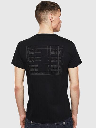 Diesel - T-DIEGO-S5, Nero - T-Shirts - Image 2
