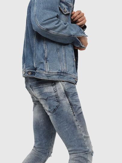 Diesel - Thommer JoggJeans 069FC, Blu medio - Jeans - Image 4