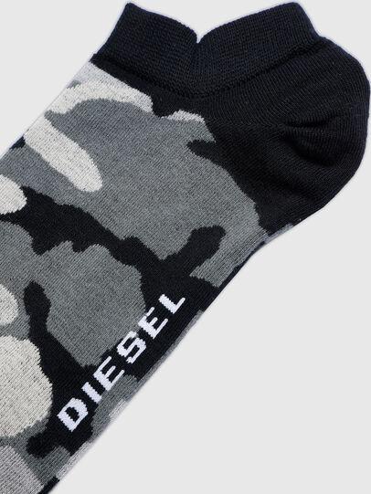 Diesel - SKM-GOST, Nero/Grigio - Calzini corti - Image 2