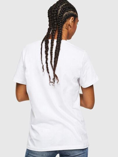 Diesel - T-DARIA-YC, Bianco - T-Shirts - Image 2