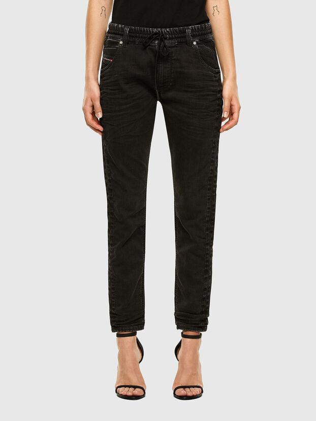 Krailey JoggJeans 009FY, Nero/Grigio scuro - Jeans