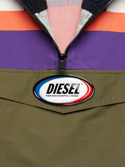 Diesel - J-SHAUN, Viola/Verde - Giacche - Image 5