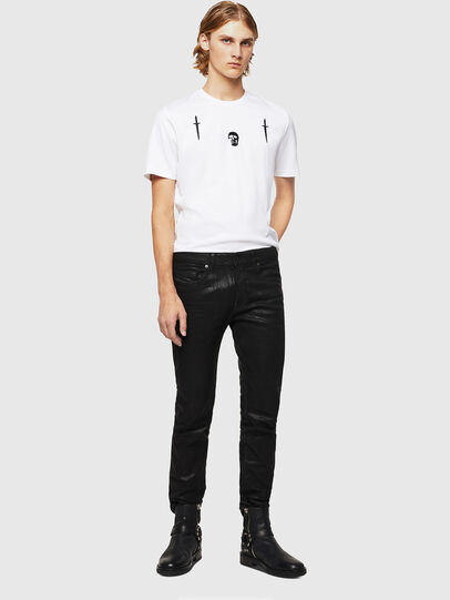 Diesel - TY-X2, Bianco - T-Shirts - Image 5