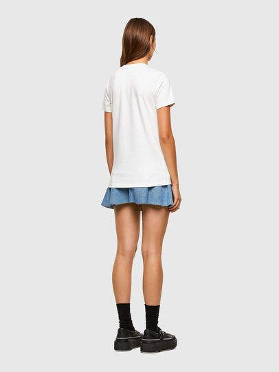 Diesel - T-SILY-E55, Bianco - T-Shirts - Image 6