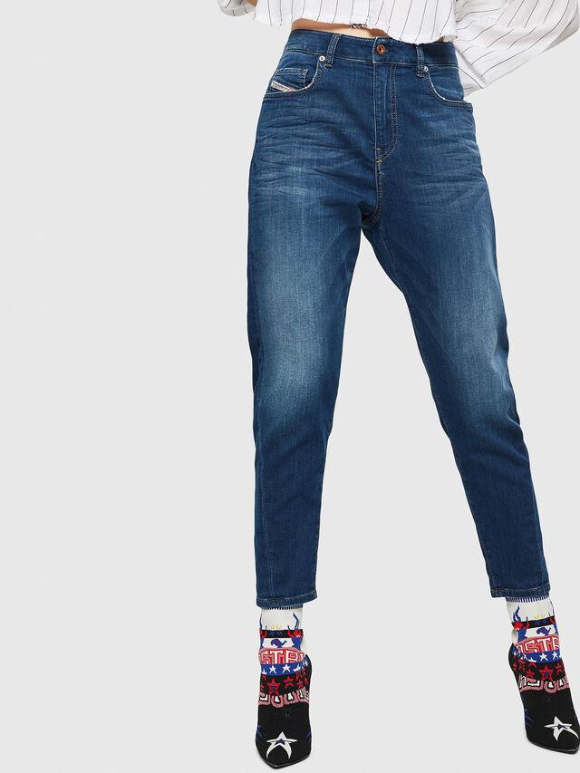 Diesel - Candys JoggJeans 069HC, Blu Scuro - Jeans - Image 1
