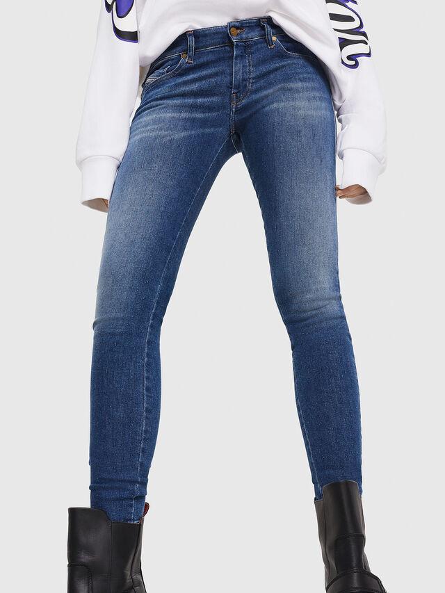 Diesel - Slandy Low 088AU, Blu medio - Jeans - Image 5