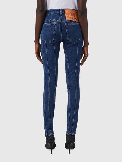 Diesel - Slandy 09B10, Blu medio - Jeans - Image 2