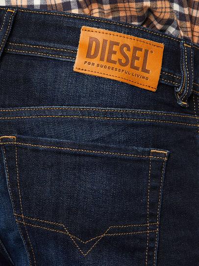 Diesel - Sleenker 009EY, Blu Scuro - Jeans - Image 4