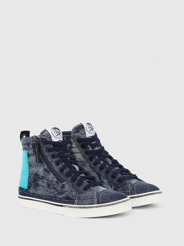 Diesel - D-VELOWS MID PATCH, Blu - Sneakers - Image 2