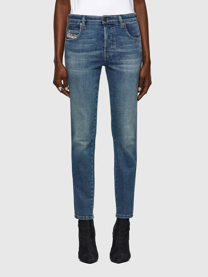 Diesel - Babhila 09A01, Blu medio - Jeans - Image 1