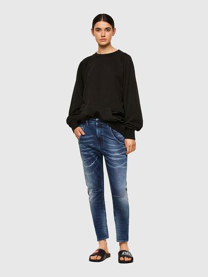 Diesel - Fayza JoggJeans® 0096M, Blu Scuro - Jeans - Image 5
