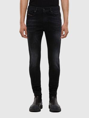 D-Amny 0092B, Nero/Grigio scuro - Jeans