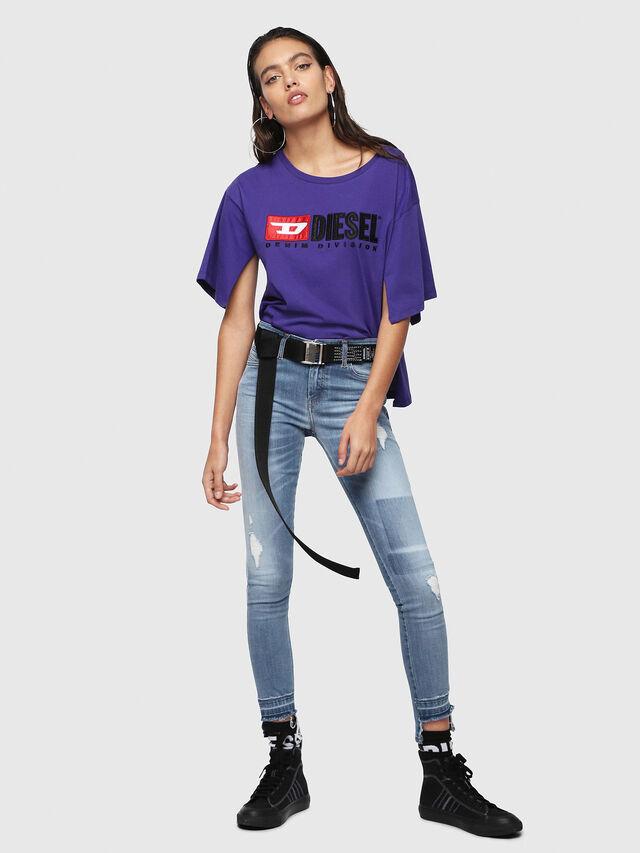 Diesel - Slandy 086AH, Blu Chiaro - Jeans - Image 5