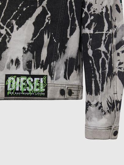 Diesel - NHILL-SP3, Nero/Bianco - Giacche in denim - Image 5