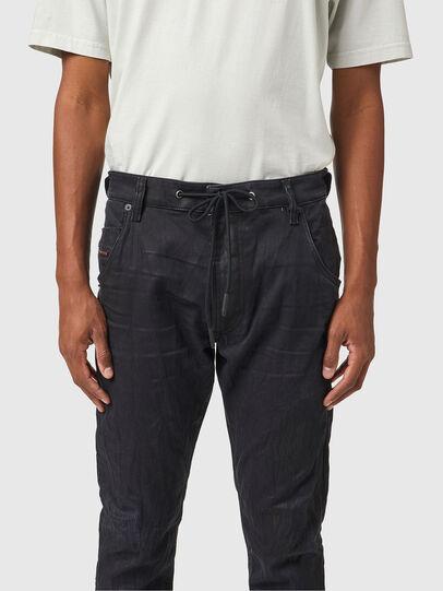 Diesel - Krooley JoggJeans® 069WB, Nero/Grigio scuro - Jeans - Image 3
