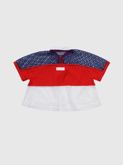 Diesel - TVAITEA, Rosso/Bianco - T-shirts e Tops - Image 2