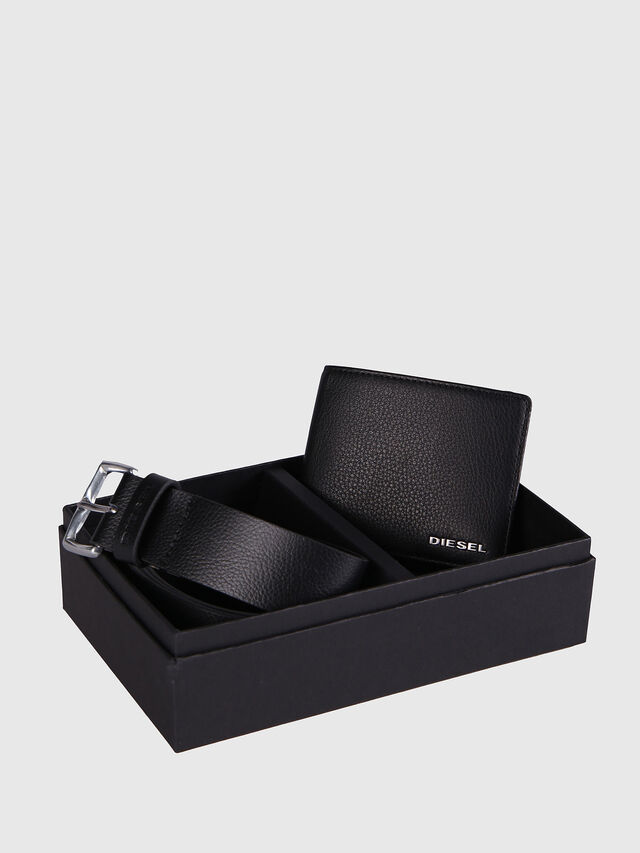 Diesel STERLING BOX I, Nero Cuoio - Bijoux e Gadget - Image 1