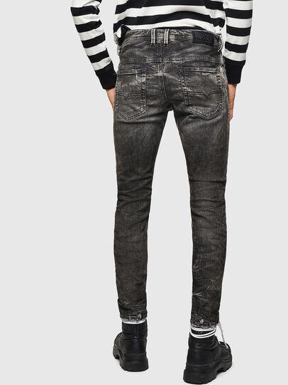 Diesel - Thommer JoggJeans 0890B, Nero/Grigio scuro - Jeans - Image 2