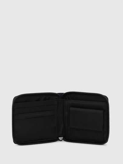 Diesel - ZIPPY HIRESH S, Blu Scuro - Portafogli Con Zip - Image 3