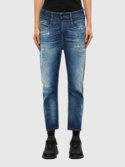 Diesel - Fayza 009LF, Blu medio - Jeans - Image 1