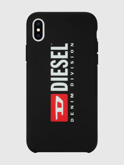 Diesel - DIESEL PRINTED CO-MOLD CASE FOR IPHONE XS MAX, Nero/Bianco - Cover - Image 4