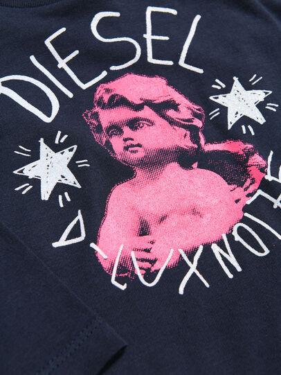 Diesel - TAIZAB, Blu Scuro - T-shirts e Tops - Image 3