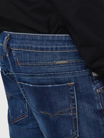 Diesel - D-Bazer 083AZ, Blu Scuro - Jeans - Image 4
