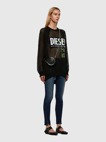 Diesel - D-Jevel 009HL, Blu Scuro - Jeans - Image 7