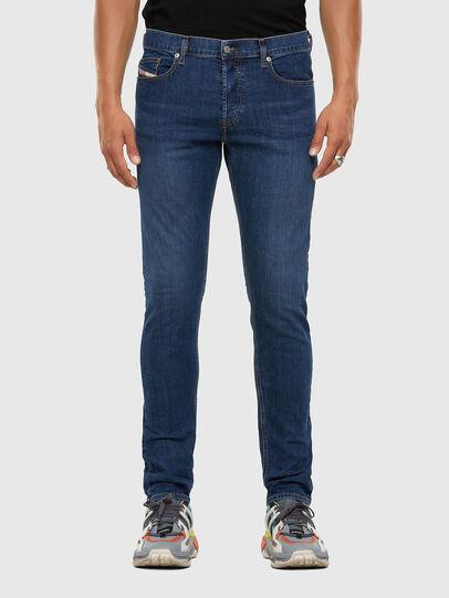 Diesel - D-Luster 009DG, Blu medio - Jeans - Image 1