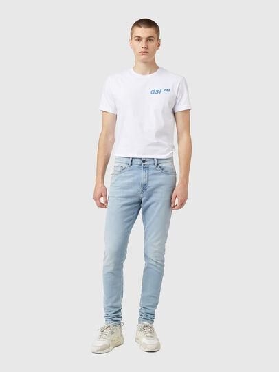 Diesel - D-Amny JoggJeans® Z69VL, Blu Chiaro - Jeans - Image 5