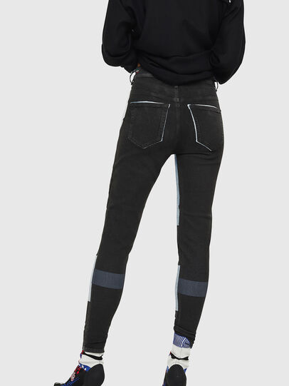 Diesel - Slandy High 0890M, Blu Chiaro - Jeans - Image 2