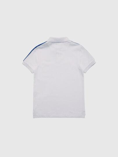Diesel - TRALFYS1, Bianco/Blu - T-shirts e Tops - Image 2