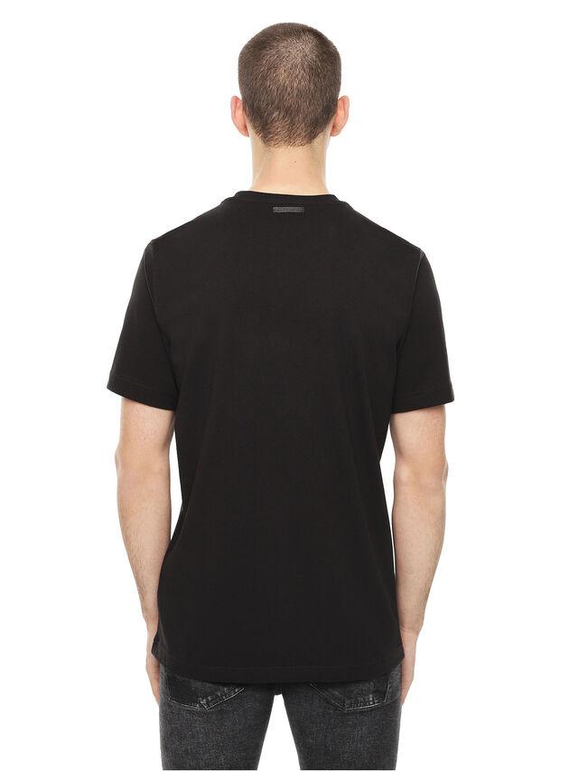 Diesel - TY-CHOPPER, Nero - T-Shirts - Image 2