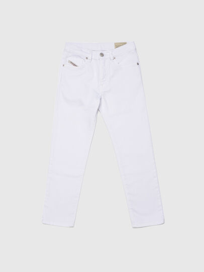 Diesel - MHARKY-J JOGGJEANS, Bianco - Jeans - Image 1