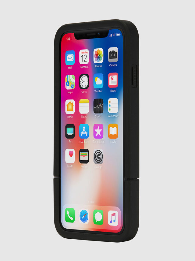 Diesel - CREDIT CARD IPHONE X CASE, Nero - Cover - Image 4