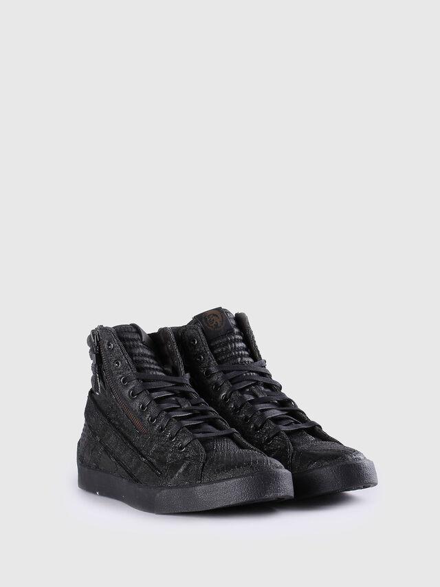Diesel - D-STRING PLUS, Nero Cuoio - Sneakers - Image 2