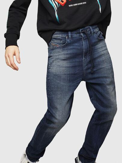 Diesel - D-Vider JoggJeans 069HV, Blu Scuro - Jeans - Image 4