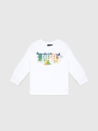Diesel - TDOSKYB ML-R, Bianco - T-shirts e Tops - Image 1