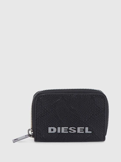 Diesel - JAPAROUND, Nero - Portafogli Con Zip - Image 1