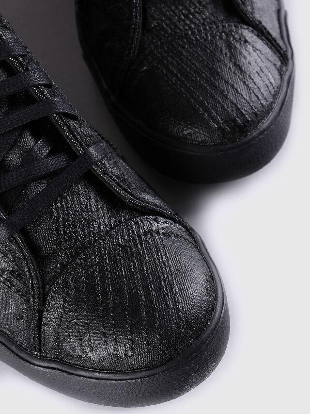 Diesel - D-STRING PLUS, Nero Cuoio - Sneakers - Image 4
