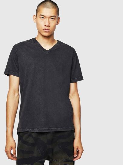 Diesel - T-THEA, Nero - T-Shirts - Image 1