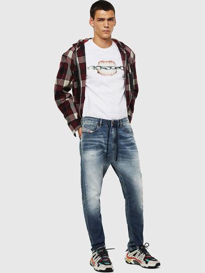 Diesel - D-Vider JoggJeans 069IP, Blu medio - Jeans - Image 5