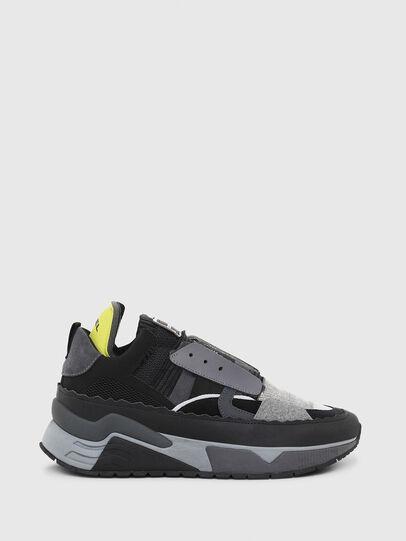 Diesel - S-BRENTHA DEC, Nero/Grigio - Sneakers - Image 1